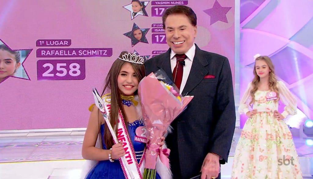 Silvio Santos concurso Miss Infantil e gera polêmica no SBT
